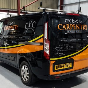 CPC Carpenty Van Graphics