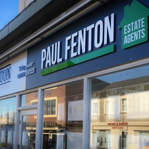 Estate Agent Signage for Paul Fenton Estate Agents