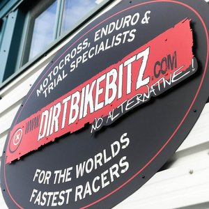 External Signage for Dirt Bike Blitz