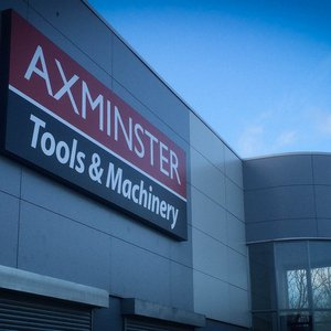 Indoor and Outdoor Signage for Axminster Tools