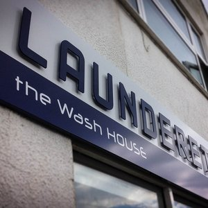 Launderette Signage The Wash House