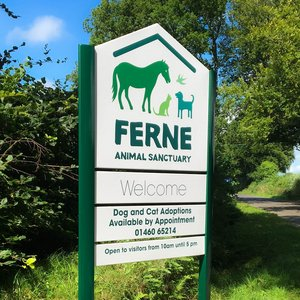 Post Mounted Signage for Ferne Animal Sanctuary