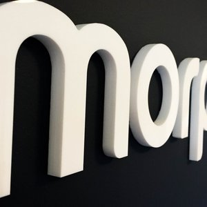Raised Lettering Signage for Morphsites