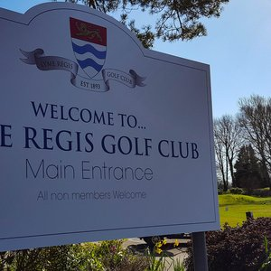 Sign Design for Lyme Regis Golf Club
