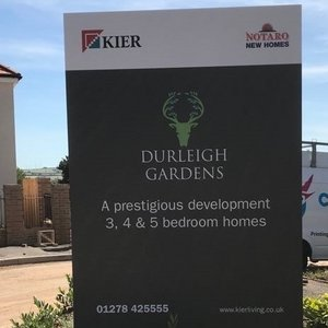 Site Signage Design for Kier Living