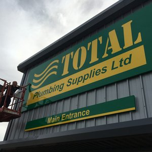 Total Plumbing Supplies Signage Install