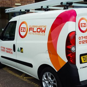 Van Signwriting for Ezi Flow