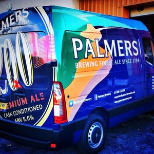 Van Wrap for Palmers Brewery