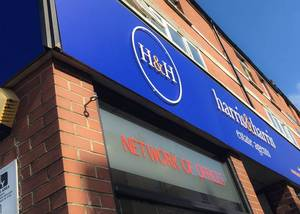 Signage Rebranding for Harris & Harris Estate Agents