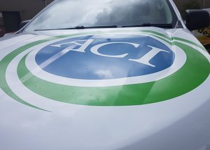 ACI Bonnet Logo Vehicle Graphics