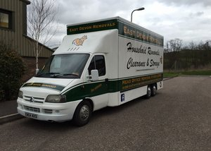Fleet Vehicle Graphics for East Devon Removals