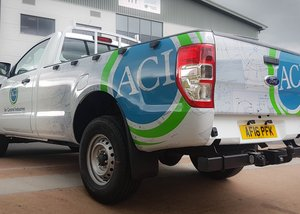 Vehicle Wrap for Air Control Industries