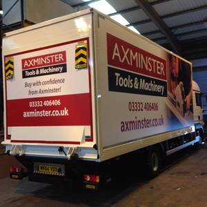 Axminster Power Tools Vehicle Livery
