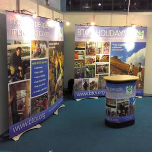 Creative Solutions Twist Banner Stands