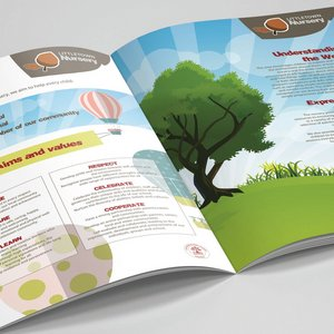 Brochure Design for Littlewoods Primary School