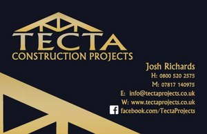 Business Card Design TECTA