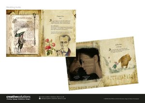 Graphic Design - Wedding Invitations Storybook Theme