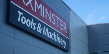 Axminster Tools Signage