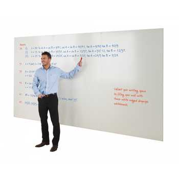 Frameless Whiteboards