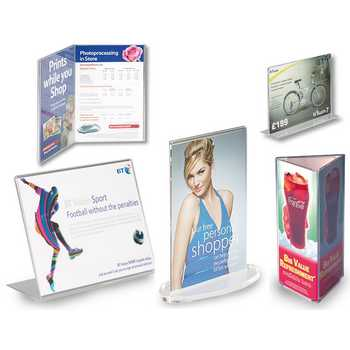 Menu & Leaflet Holders