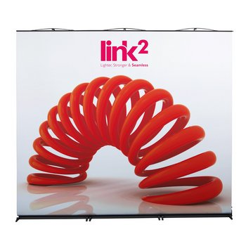 Link2 Roller Banner Stand Triple