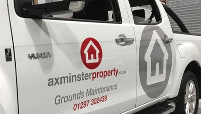 Axminster Property Vehicle Graphics