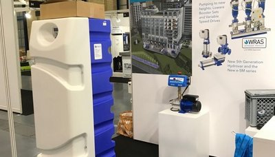 Exhibition Display Xylem Water Solutions at the Alexandra Palace
