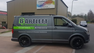 Van Graphics for Bartlett Electrical