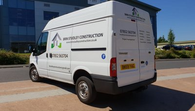 Van Graphics for Brin Studley Construction