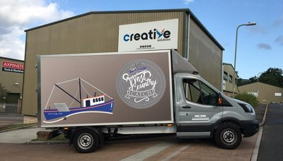West Country Catch Graphics installed at Creative Solutions