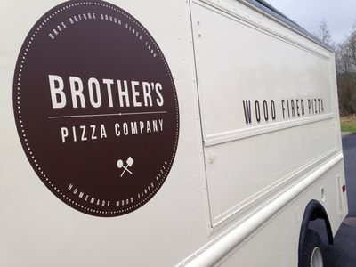 Brothers Pizza Van Livery