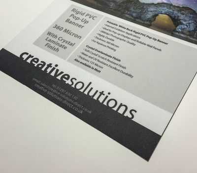 Pvc pop up banner rollable 360 micron pop up banner reheart Gallery