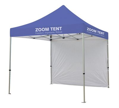 Zoom Printed Tent with Backwall