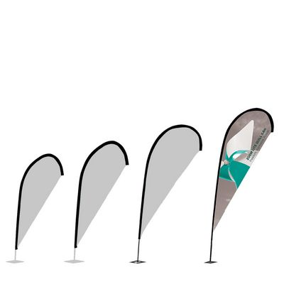 Zoom Quill Flag Sizes 4