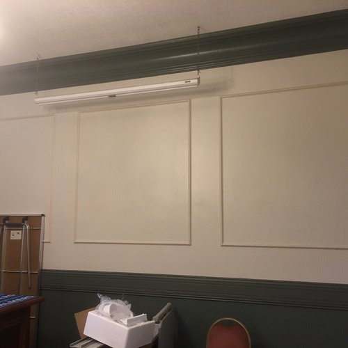 Plain Wall Frames in the Palmers Office