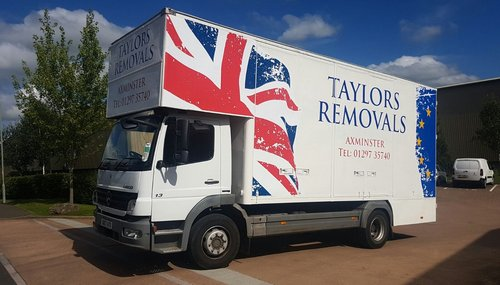 Lorry Graphics Taylors Removals
