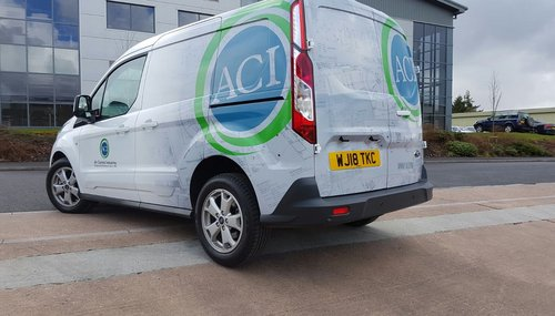 Van Wrap Installation Creative Solutions