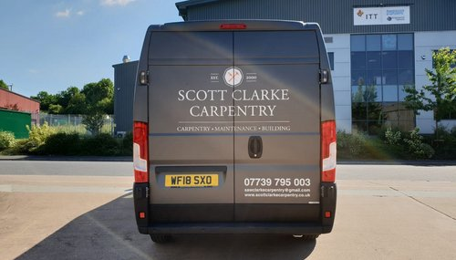 Vinyl Lettering Vehicle Graphics