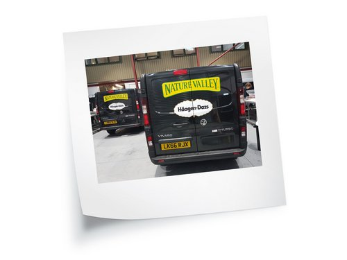 Vehicle Graphics Sticky Note