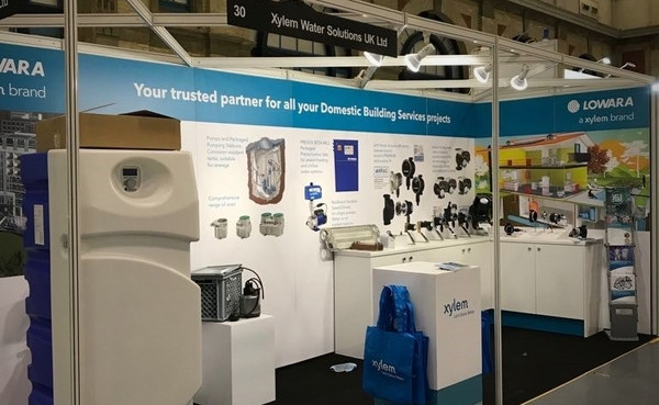 Exhibition Stand For Zara : Exhibition stand displays for xylem water solutions ltd