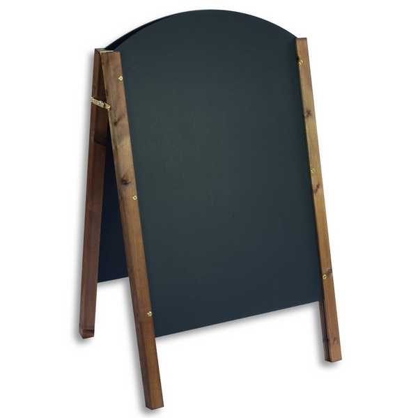 Chalk A Board Abbey Timber Curved
