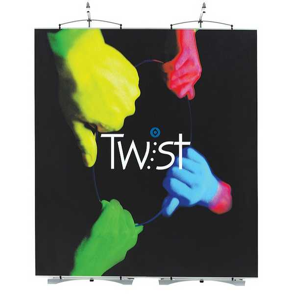Twist Linked Banner Stand