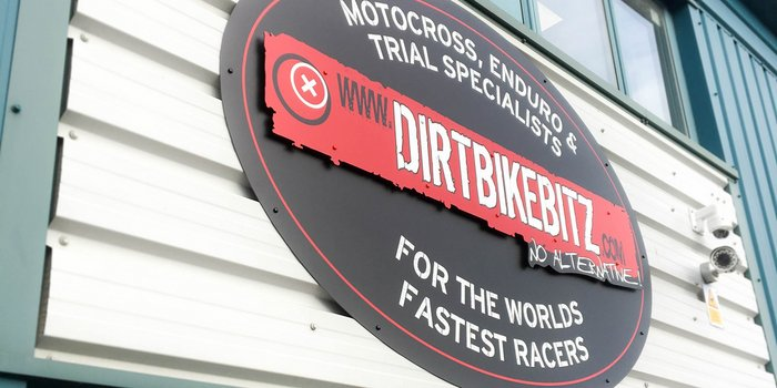 External Signage - Dirt Bike Bitz