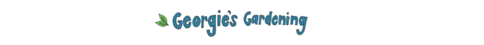 Georgie's Gardening Dog Walking Logo