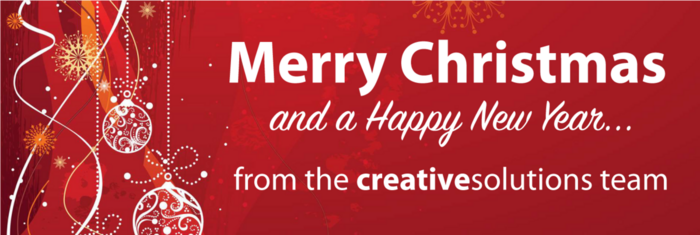 Merry Christmas from Creative Solutions