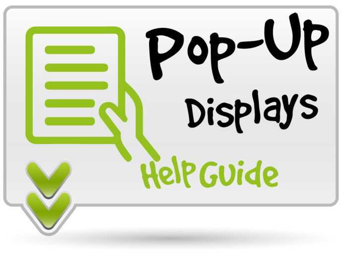 Pop Up Stand Help Guide