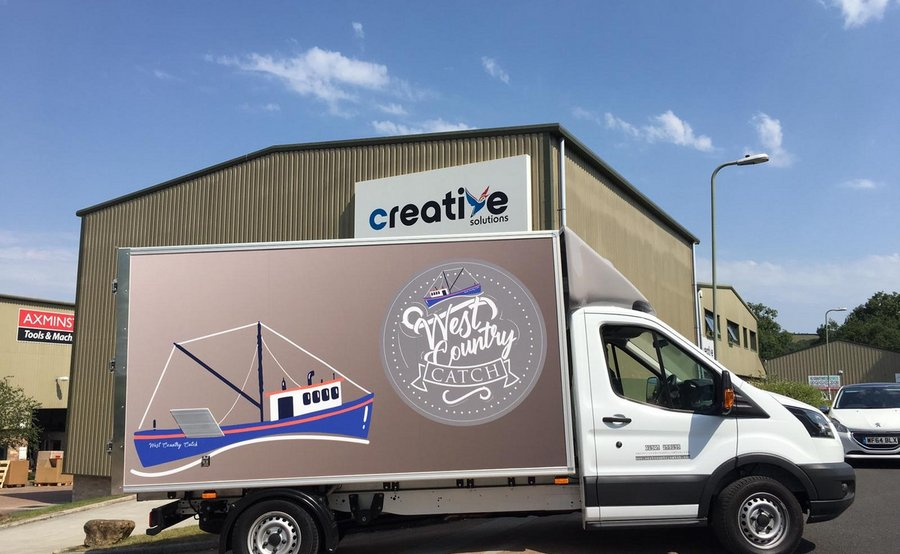 Bus Signwriting at Creative Solutions