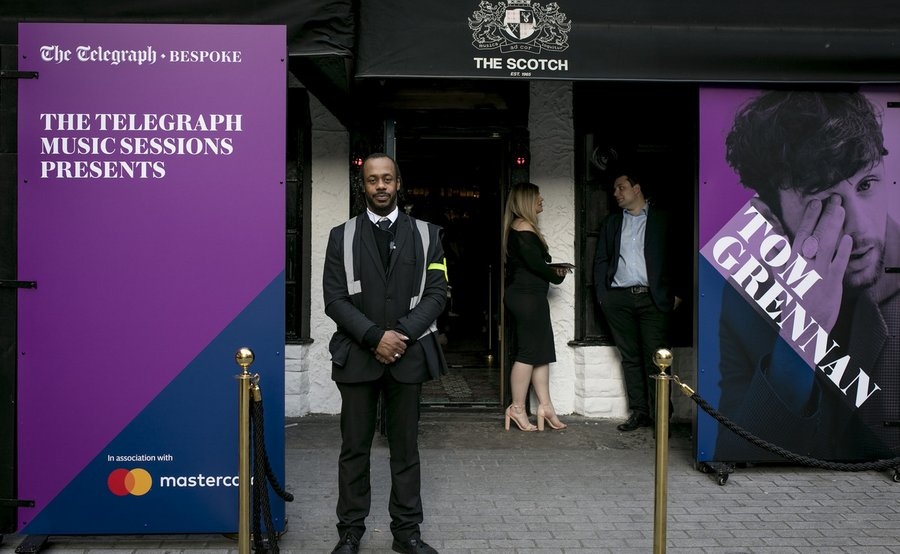 Event Branding The Telegraph Bespoke