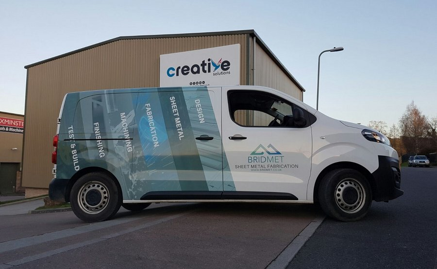Half Wrap Van Vehicle Graphics Creative Solutions
