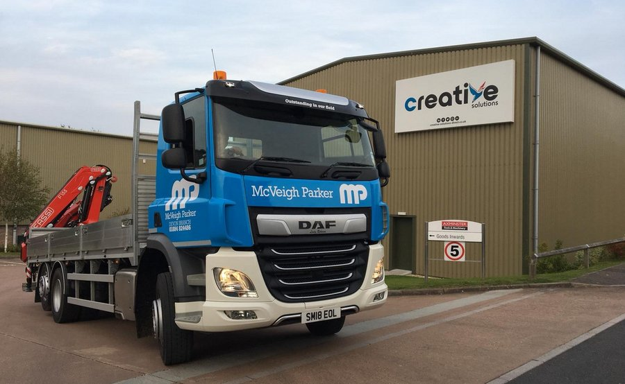 HGV Wrapping McVeigh Parker